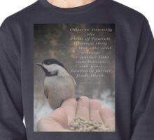 """Intently Observe"" Pullover"