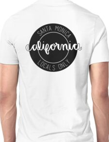 santa monica locals only Unisex T-Shirt