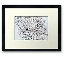 Doddle Framed Print