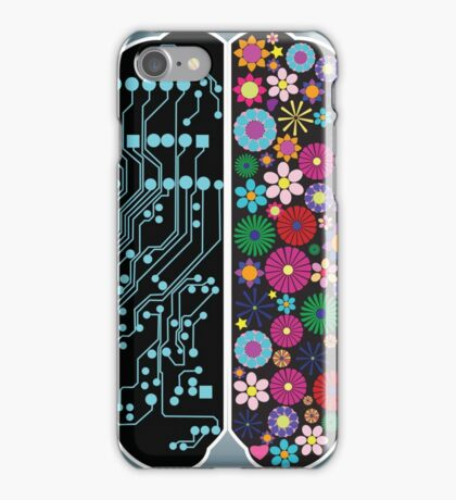 Left and right brain iPhone Case/Skin