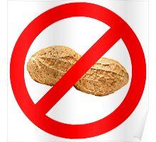 No Peanuts Poster