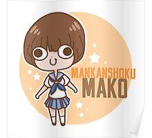 Mako Mankanshoku Poster
