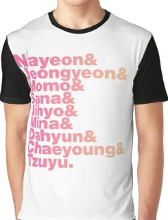 TWICE in Helvetica Graphic T-Shirt