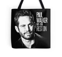 In Memoriam Paul Walker Tote Bag