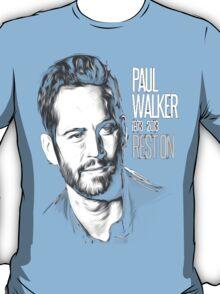In Memoriam Paul Walker T-Shirt