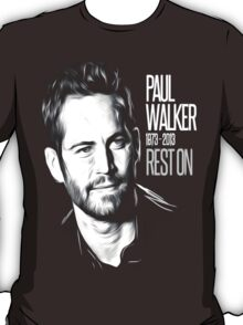 In Memoriam Paul Walker T-Shirt
