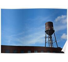 Nashville Water Tower Poster