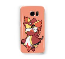 Delphox The Wizard Samsung Galaxy Case/Skin