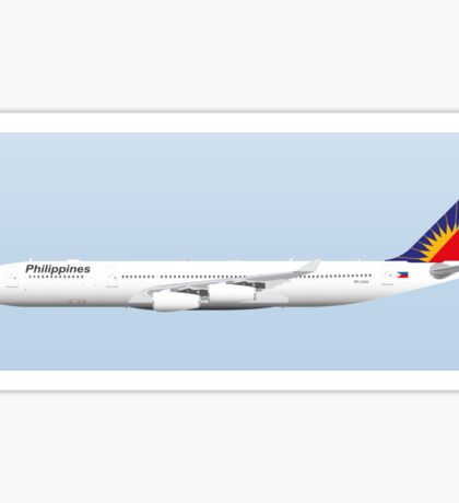 Wings In Uniform - A340 - Philippine Air Lines Sticker