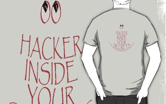 Hacker Inside by TeaseTees