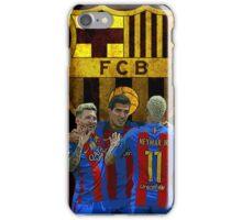 Barcelona Messi Neymar Suarez  iPhone Case/Skin