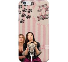 My Teenwolfed Valentine [Dance With Me, Dumbass] iPhone Case/Skin