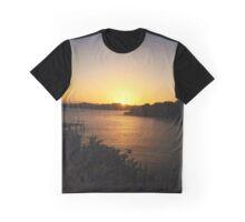 Roatan Sunset Graphic T-Shirt