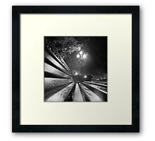 ...night city... Framed Print