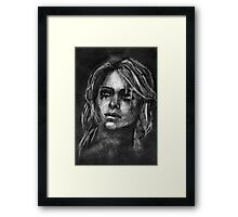 Ciri from Witcher  Framed Print