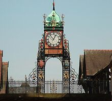 Eastgate Clock, Chester. England. by AnnDixon