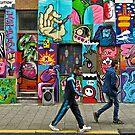 graffiti- Rotterdam by David Chesluk
