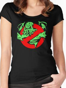 Cthulu Busters Women's Fitted Scoop T-Shirt