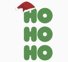 Ho Ho Ho Christmas Kids Tee