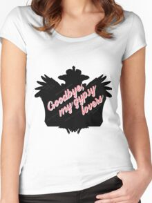 Goodbye, My Gypsy Lovers Women's Fitted Scoop T-Shirt