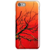 Red Branches of Crimson Dreams iPhone Case/Skin