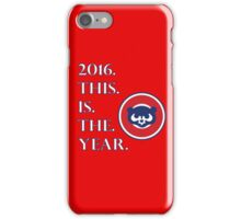 CUBS iPhone Case/Skin
