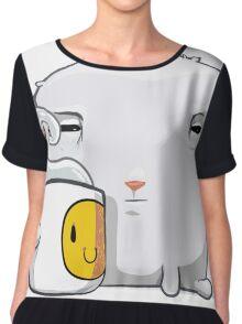 Bun sheep T-shirt - Funny tshirt  Chiffon Top
