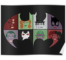 Bat Villains Poster