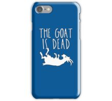 The Goat is Dead Chicago Baseball iPhone Case/Skin