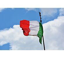 Italian Pride Photographic Print