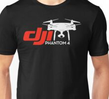 DJI Phantom 4 New Drone White Unisex T-Shirt