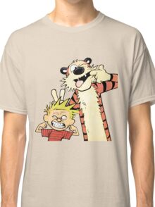 Funny shirt - Tiger and boy shirt  Classic T-Shirt