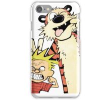 Funny shirt - Tiger and boy shirt  iPhone Case/Skin