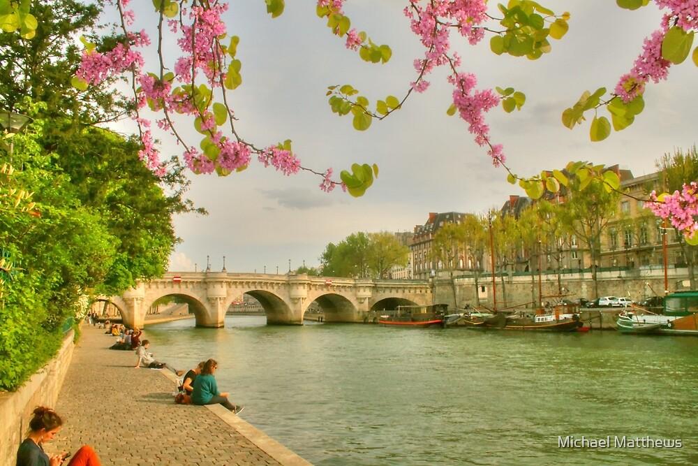 So Much Beauty In Paris .. It's In Seine by Michael Matthews