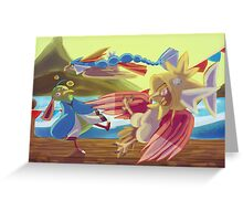 Flying-type Fish Festival Greeting Card