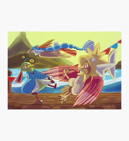 Flying-type Fish Festival Photographic Print