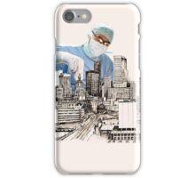Operation (snip & Tie) Circomcised skyline iPhone Case/Skin