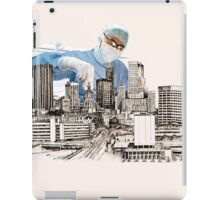 Operation (snip & Tie) Circomcised skyline iPad Case/Skin
