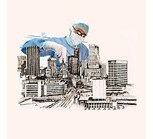 Operation (snip & Tie) Circomcised skyline Photographic Print