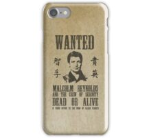 Wanted Captain  iPhone Case/Skin