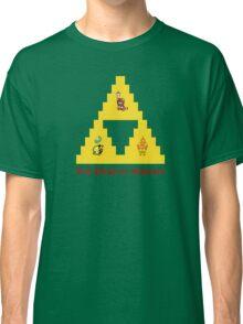 8-Bit Deathly Hallows Classic T-Shirt
