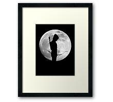Moon Arrow  Framed Print