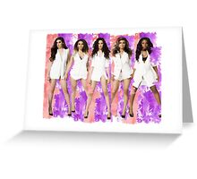 Fifth Harmony Spalsh! Greeting Card