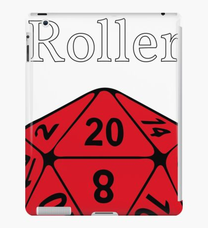 High Roller D20, Dungeons and Dragons iPad Case/Skin