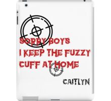 Caitlyn Quote iPad Case/Skin