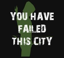 You Have Failed This City  by Shaun Beresford