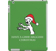 Grr Argh Christmas iPad Case/Skin