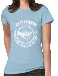 Horse best friends for life Tshirt Womens Fitted T-Shirt