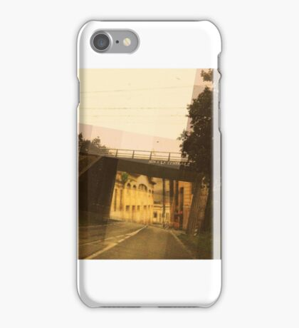 the wrong town iPhone Case/Skin