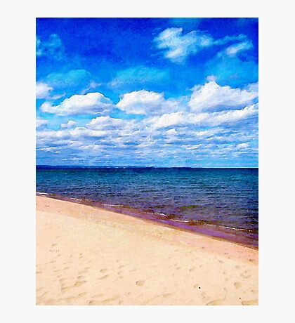 Shores of Lake Superior Photographic Print